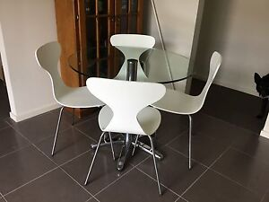Dining Table and Chairs Longwarry Baw Baw Area Preview