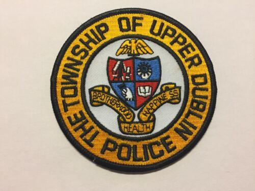 Upper Dublin PENNSYLVANIA Police Patch