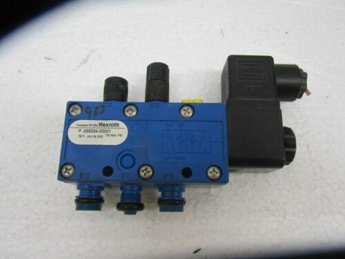 REXROTH P -069294-00001 SOLENOID CONTROL VALVE, 150 PSI, P06929400001,  110 V
