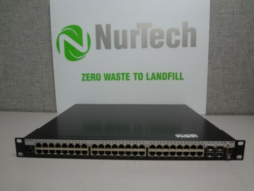 Enterasys C5g124-48p2 48-port Managed Switch W/ Rackears*