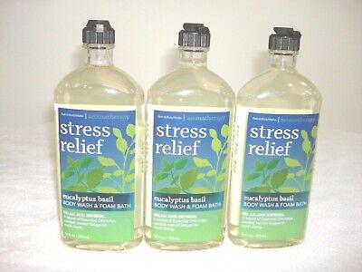 Bath & Body Works Aromatherapy Stress Relief Eucalyptus Basi