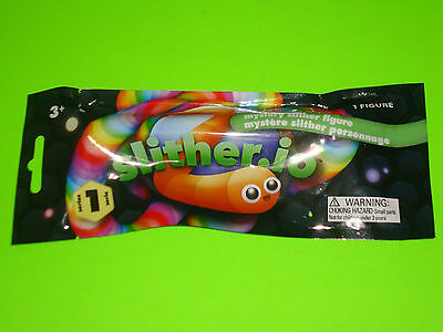 1X Slither Io Blind Mystery Packs Bendable Snake Worm Game Figures 2017