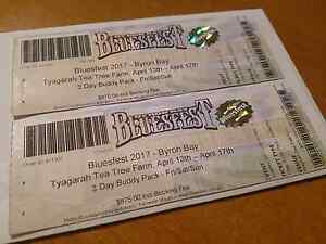Byron Bay Bluesfest 2017 - 3 Day Buddy Pack Morayfield Caboolture Area Preview