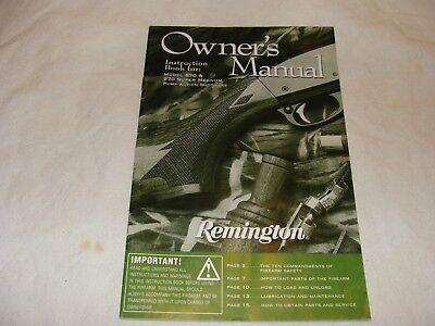 Manuals Remington 870 Manual