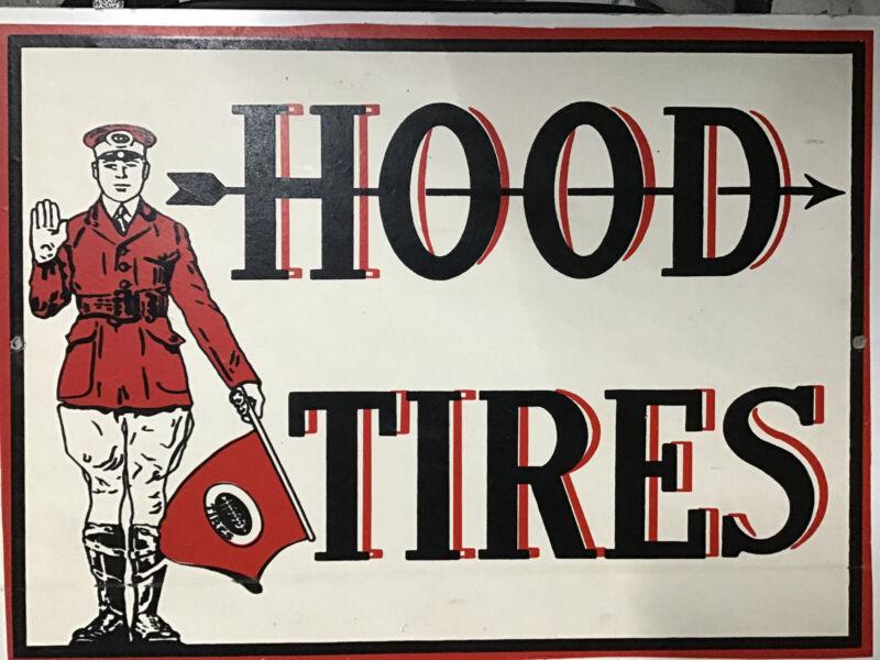 Hood Tires Replica Poster