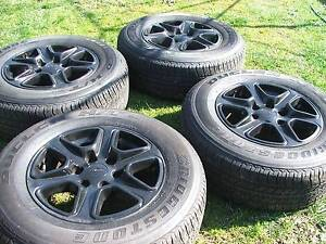 GENUINE 17'' FORD RANGER ALLOY WHEELS AND TYRES Belconnen Belconnen Area Preview