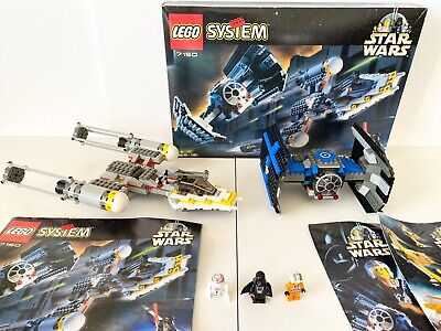 Lego Star Wars 7150 Tie Fighter vs Y-Wing 100% Complete Original Boxed Manual