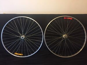 "Araya 27"" wheel set"