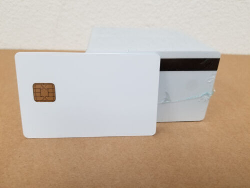 J2A040 CHIP JAVA JCOP Cards w/ HiCo 2 Track Mag Stripe JCOP21-36K - 10 Pack Seal