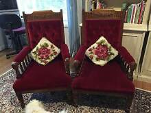 2 ANTIQUE LADIES CHAIRS Sandy Bay Hobart City Preview