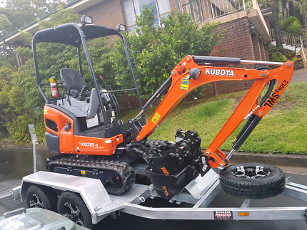 Excavator for hire $249 per day