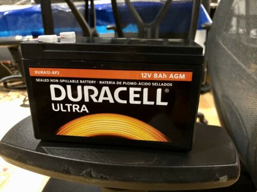 Duracell DURA12-8F2 12V 8Ah Battery