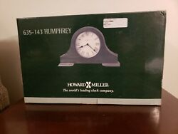 Howard Miller Humphrey Mantel Clock 635-143 – Cherry Wood with Quartz Movement