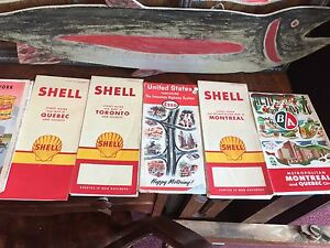 Shell Esso BA Imperial - Road Maps