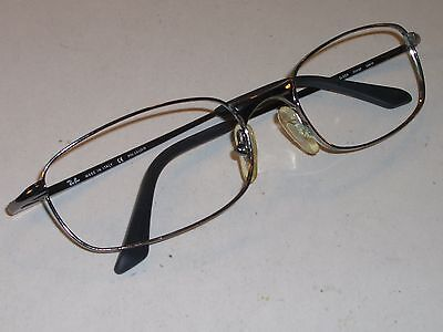 55[]19 LARGE RAY BAN RB3162 SLEEK GUNMETAL RECTANGULAR FLEX EYE/SUNGLASSES FRAME