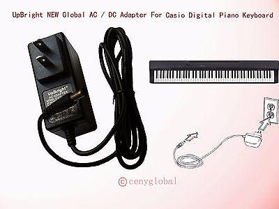 Worldwide AC Adapter For Casio Privia Digital Piano Keyboard