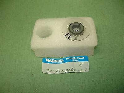 Tektronix 465 475 Series Scopes Sweep Knob W Skirt Pn 354-0442-01 New