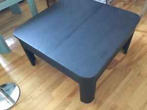 Black coffee table- 1 available