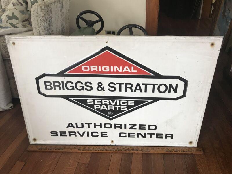 Briggs & Stratton Authorized Dealer Sign Vintage