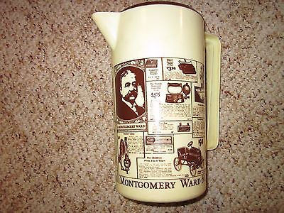 (Vintage Montgomery Wards Plastic Water/Juice Pitcher (1980's) (Kitchen Pitchers))