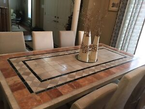 Spanish Tile Dining Table