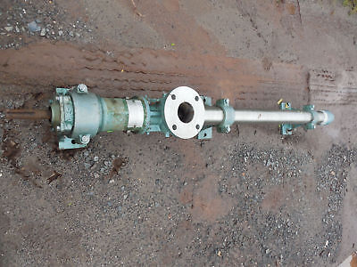 Robins And Meyers Moyno Pump Model 9p3 Ss -