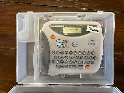 The Container Store Brother Portable Label Maker Pt-1190 Tested