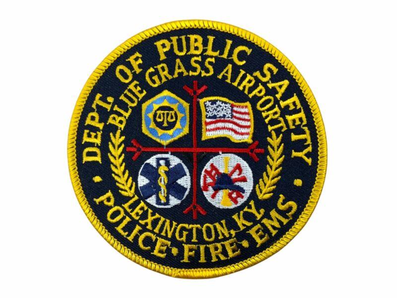 US Kentucky Lexington Department Of Public Safety Blue Grass Airport Patch