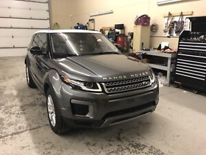2016 Range Rover Evoque with low mileage