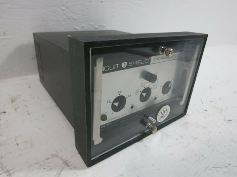 ABB 424K1105 Circuit Shield Type 25V Synchronism Check Relay Asea Brown Boveri