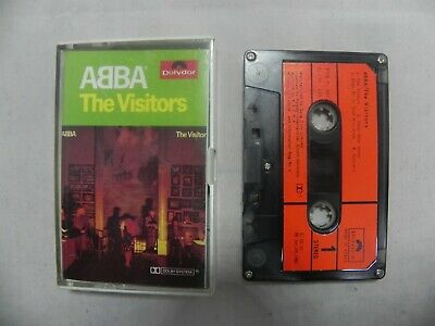 Abba - The Visitors 1982 Mega Rare Korea Cassette Tape + Orig Case