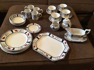 "Set of 4 Adams ""Lancaster"" dishes Windsor Region Ontario image 1"