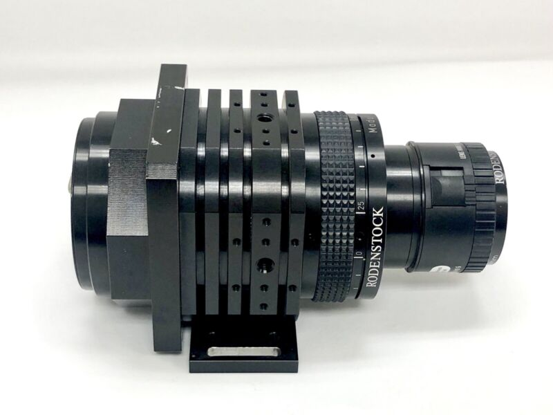 Schafter & Kirchhoff  SK 7500 DJR Digital Line Scan Camera With Rodenstock Lens