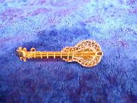 Bella Spilla__chitarra__argento 925__parziamente Dorato_ -  - ebay.it