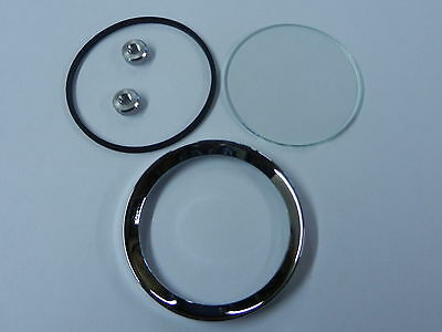 MG MGA MGB Midget Jaeger Smiths Gauge Reconditioning Kit Glass Seal Bezel 2