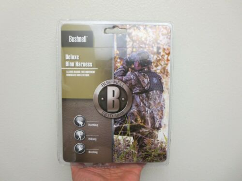 AUTHENTIC New Bushnell Deluxe Binocular Harness 19125C New Factory Sealed