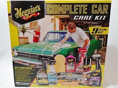 Meguiar's Complete Car Care Kit - Brand New