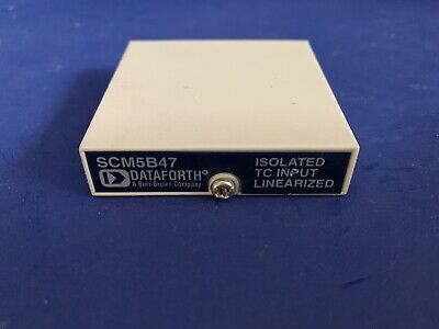 Dataforth Scm5b47 Type S Linearized Thermocouple Input Module - Used