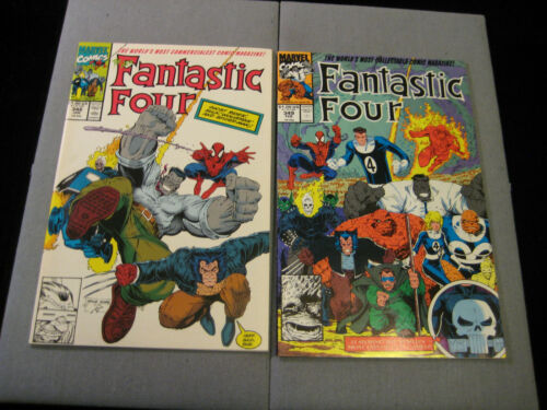 Fantastic Four #348 And #349 (Marvel, 1991)