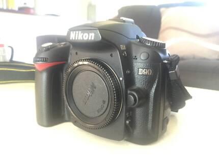 Nikon D90 12.0 MP Digital SLR Camera - Black (Body Only)