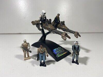 Star Wars Micro Machines Action Fleet Speeder Bikes + Articulated Miniatures