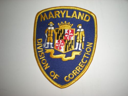 MARYLAND DIVISION OF CORRECTION DOC PATCH - NEW