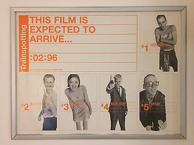Trainspotting Teaser ORIGINAL UK QUAD CINEMA POSTER Rare