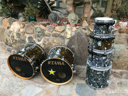 Tama Starclassic Performer Liquid Metal Double Bass 6pc Drum Set