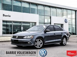2015 Volkswagen Jetta TDI Highline/0%-5 years/LEATHER/SUNROOF/HT