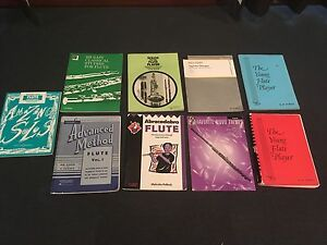 Assorted flute music books Duncraig Joondalup Area Preview