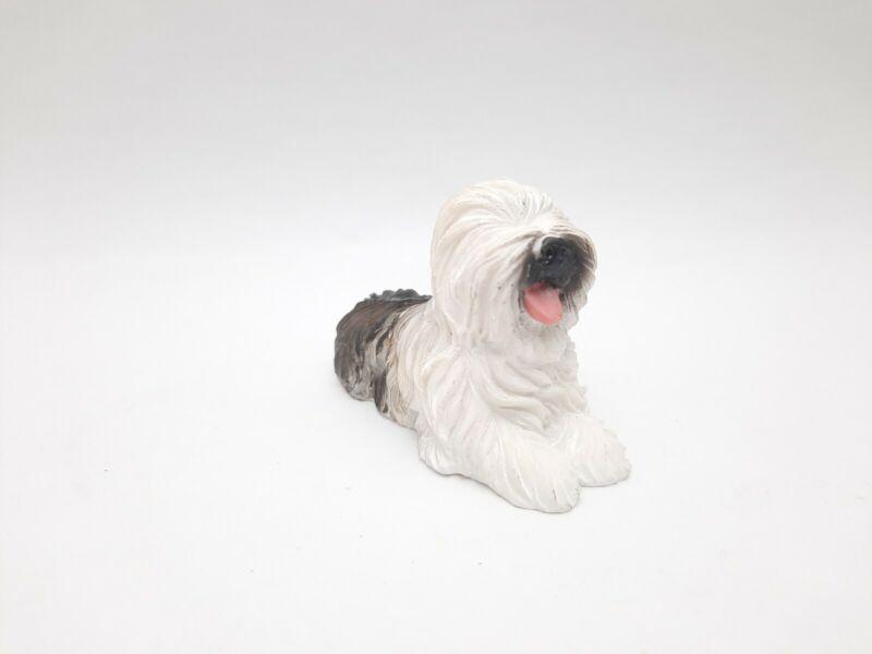 "Sheepdog figurine hand painted 2""×3"""