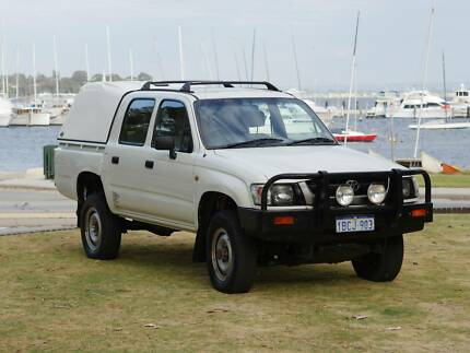 2001 Toyota Hilux - very tidy and ready for work or adventure