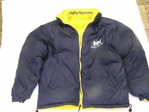 Helly Hansen, Men's Size M Navy/Yellow, down filled nylon jacket Auchenflower Brisbane North West Preview