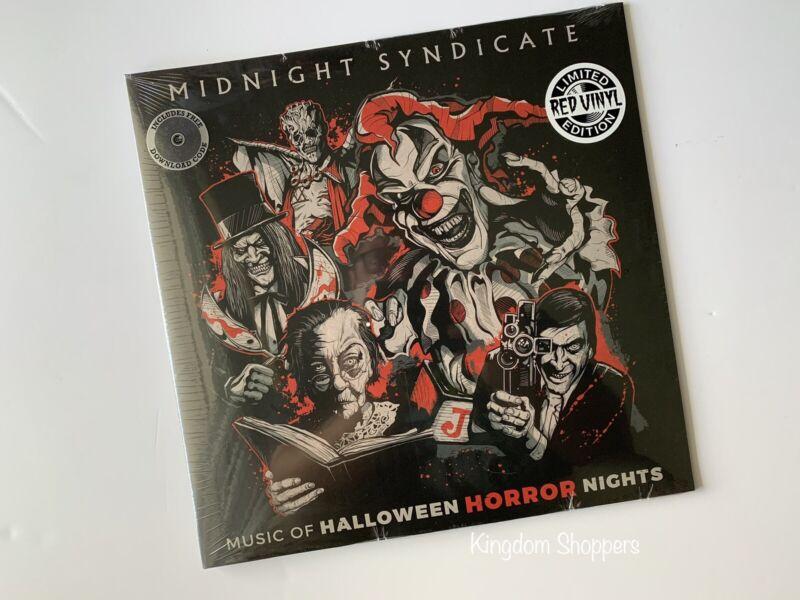 2020 HHN Halloween Horror Nights Red Vinyl Record Vinyl Universal Orlando LE 500
